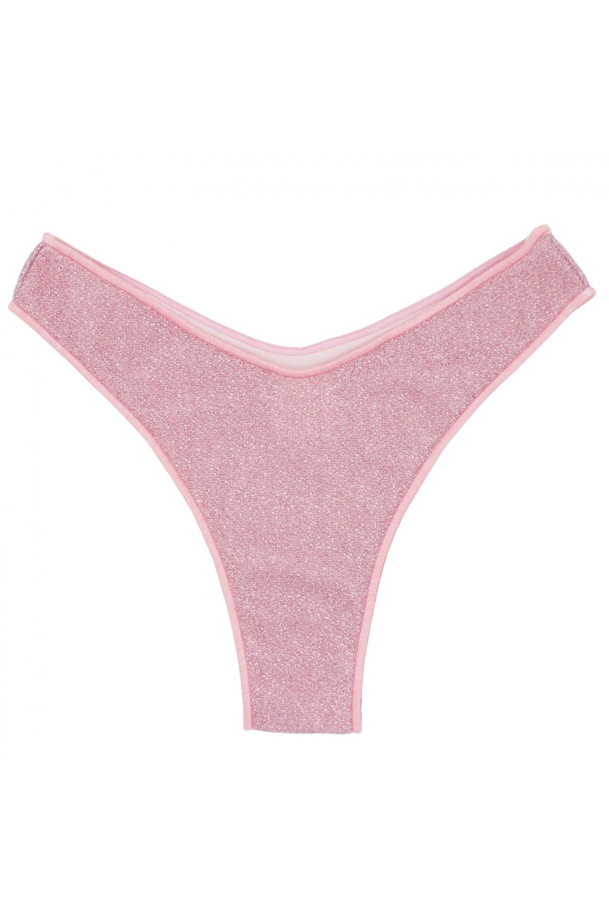 """Glitter rosa brasiliana """"V"""" donna rosa costume"""