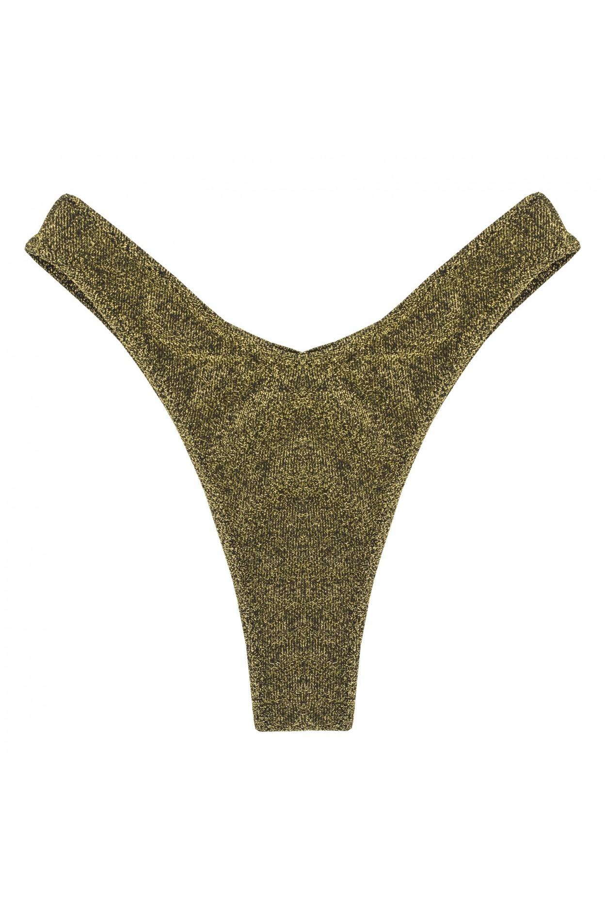 gliiter oro brasiliana costume donna