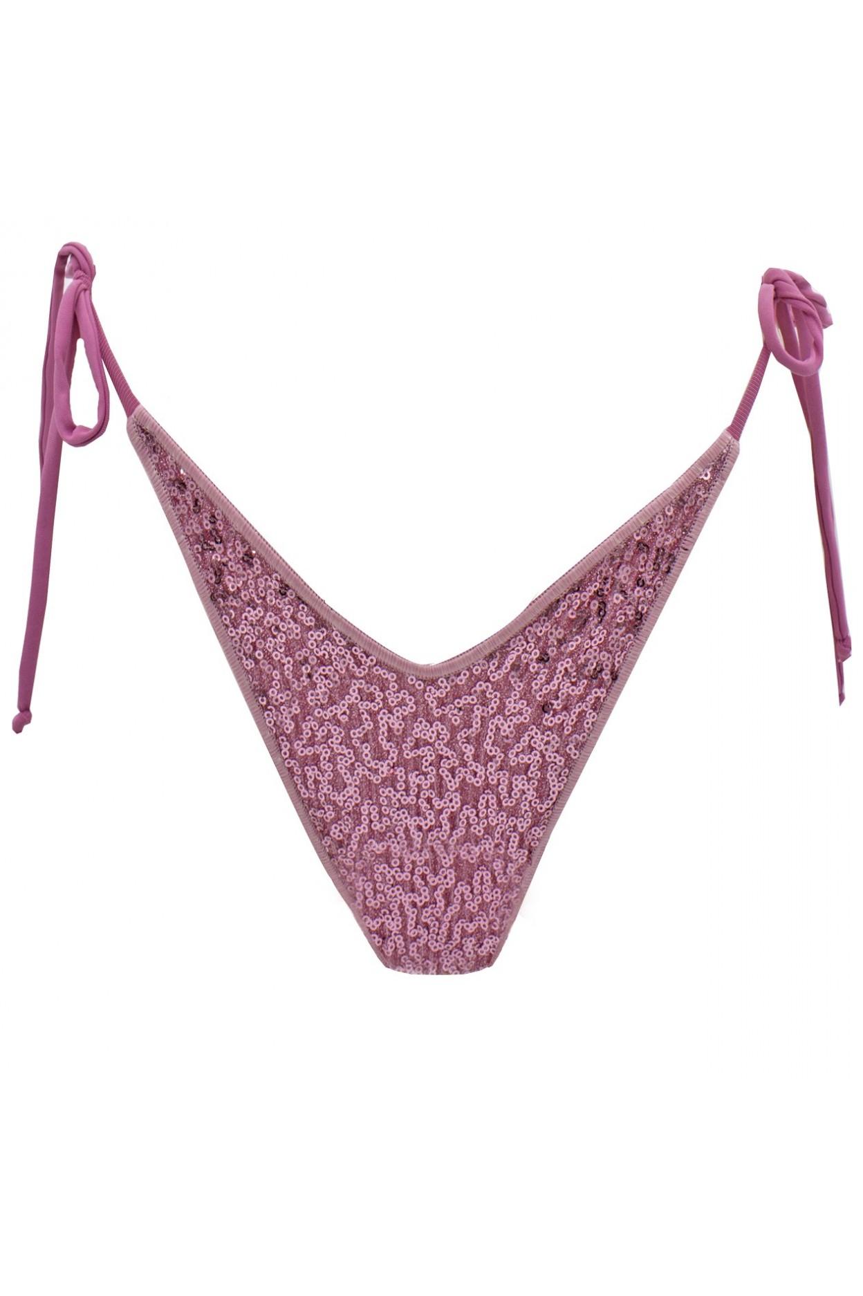 shine lilac brasiliana costume donna lurex pailettes rosa